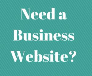 how to get a business website